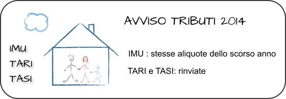 Avviso tributi2014